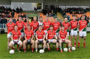 13 January 2013; The Mayo team. Connacht FBD League Section B, Leitrim v Mayo, Páirc Seán O'Heslin, Ballinamore, Co. Leitrim. Picture credit: David Maher / SPORTSFILE