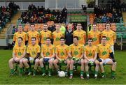 13 January 2013; The Leitrim team. Connacht FBD League Section B, Leitrim v Mayo, Páirc Seán O'Heslin, Ballinamore, Co. Leitrim. Picture credit: David Maher / SPORTSFILE