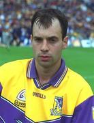 8 July 2001; Darragh Ryan, Wexford. Hurling. Picture credit; Pat Murphy / SPORTSFILE