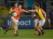 23 February 2013; Brendan Donaghy, Armagh, in action against Craig Doyle, Wexford. Allianz Football League, Division 2, Armagh v Wexford, Athletic Grounds, Armagh. Picture credit: Oliver McVeigh / SPORTSFILE