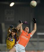 23 February 2013; Brendan Donaghy, Armagh, in action against Robert Tierney, Wexford. Allianz Football League, Division 2, Armagh v Wexford, Athletic Grounds, Armagh. Picture credit: Oliver McVeigh / SPORTSFILE