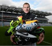 26 February 2013; In attendance at the launch of the new website www.gaelicboots.com, by the GAA and the GPA, is Ciaran Kilkenny, Dublin. Croke Park, Dublin. Picture credit: David Maher / SPORTSFILE