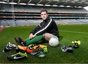 26 February 2013; In attendance at the launch of the new website www.gaelicboots.com, by the GAA and the GPA, is Patrick McBrearty, Donegal. Croke Park, Dublin. Picture credit: David Maher / SPORTSFILE