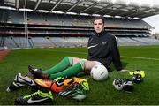 26 February 2013; In attendance at the launch of new website www.gaelicboots.com by the GAA and the GPA was Patrick McBrearty, Donegal. Croke Park, Dublin. Picture credit: David Maher / SPORTSFILE