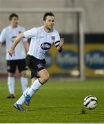 1 March 2013; Mark Rossiter, Dundalk. Jim Malone Perpetual Trophy, Dundalk v Drogheda United, Oriel Park, Dundalk, Co. Louth. Picture credit: Paul Mohan / SPORTSFILE