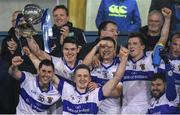 30 October 2017; St Vincent's Captain Diarmuid Connolly celebrates with his team-mates as he lifts the Clery's Cup after the Dublin County Senior Club Football Championship Final match between Ballymun Kickhams and St Vincent's at Parnell Park in Dublin. Photo by Matt Browne/Sportsfile