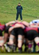 5 March 2013; Former Rockwell student Denis Leamy during the game. Munster Schools Senior Cup Semi-Final, Rockwell College v St Munchin's College, Clanwilliam RFC, Clanwilliam Park, Tipperary Town, Tipperary. Picture credit: Diarmuid Greene / SPORTSFILE