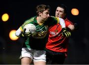 16 March 2013; James O'Donoghue, Kerry, in action against Keith Quinn, Down. Allianz Football League, Division 1, Kerry v Down, Austin Stack Park, Tralee, Co. Kerry. Picture credit: Stephen McCarthy / SPORTSFILE
