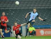 23 March 2013; Paul Mannion, Dublin, in action against Brendan McArdle, Down. Allianz Football League, Division 1, Dublin v Down, Croke Park, Dublin. Picture credit: Paul Mohan / SPORTSFILE