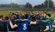 10 April 2013; The Cavan players in a huddle before the game. Cadbury Ulster GAA Football Under 21 Championship Final, Cavan v Donegal, Brewster Park, Enniskillen, Co. Fermanagh. Picture credit: Oliver McVeigh / SPORTSFILE
