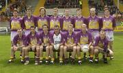 7 June 2003; Wexford team. Bank of Ireland Senior Football Championship qualifier, Wexford v Derry, Wexford Park, Wexford. Picture credit; Damien Eagers / SPORTSFILE *EDI*
