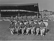 24 September 1961; The Down squad. GAA Football All-Ireland Senior Championship Final, Offaly v Down, Croke Park, Dublin. Picture credit: Connolly Collection / SPORTSFILE