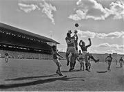 24 September 1961; A general view of action during the game. GAA Football All-Ireland Senior Championship Final, Offaly v Down, Croke Park, Dublin. Picture credit: Connolly Collection / SPORTSFILE