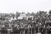 21 August 1977; A general view of supporters at the game. GAA Football All-Ireland Senior Championship Semi-Final, Dublin v Kerry, Croke Park, Dublin. Picture credit: Connolly Collection / SPORTSFILE