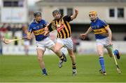 5 May 2013; Aidan Fogarty, Kilkenny, in action against Conor O'Brien, left, and Lar Corbett, Tipperary. Allianz Hurling League Division 1 Final, Kilkenny v Tipperary, Nowlan Park, Kilkenny. Picture credit: Stephen McCarthy / SPORTSFILE