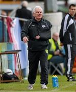 6 May 2013; Drogheda United manager Mick Cooke. Airtricity League Premier Division, Drogheda United v St. Patrick's Athletic, Hunky Dorys Park, Drogheda, Co. Louth. Picture credit: Paul Mohan / SPORTSFILE