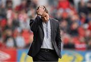 6 May 2013; Declan Devine, Derry City manager. Airtricity League Premier Division, Sligo Rovers v Derry City, The Showgrounds, Sligo. Picture credit: Oliver McVeigh / SPORTSFILE