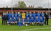 12 May 2013; The Bluebell United squad.  FAI Umbro Intermediate Cup Final, Bluebell United v Avondale United, Richmond Park, Dublin. Picture credit: Brian Lawless / SPORTSFILE