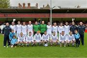 12 May 2013; The Avondale United squad.  FAI Umbro Intermediate Cup Final, Bluebell United v Avondale United, Richmond Park, Dublin. Picture credit: Brian Lawless / SPORTSFILE