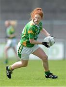 11 May 2013; Louise Ní Mhuircheartaigh, Kerry. TESCO HomeGrown Ladies National Football League, Division 2 Final, Kerry v Galway, Parnell Park, Donnycarney, Dublin. Picture credit: Brendan Moran / SPORTSFILE