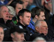 26 May 2013; Laois manager Justin McNulty watches the game from the stand. Leinster GAA Football Senior Championship, First Round, Laois v Louth, O'Moore Park, Portlaoise, Co. Laois. Picture credit: Dáire Brennan / SPORTSFILE