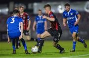 1 November 2017; Cian Fay of Bohemians in action against Paul Cleary, left, and Luke Heeney of St Patrick's Athletic during the SSE Airtricity National Under 19 League Final match between Bohemians and St Patrick's Athletic at Dalymount Park in Dublin. Photo by Piaras Ó Mídheach/Sportsfile