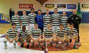 27 May 2013; The Shamrock Rovers squad. FAI Futsal Cup Final, Shamrock Rovers v Eden College, National Basketball Arena, Tallaght, Dublin. Picture credit: Barry Cregg / SPORTSFILE