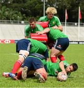29 May 2013; Conor Murray, British & Irish Lions, during squad training ahead of their game against Barbarian FC on Saturday. British & Irish Lions Tour 2013, Squad Training, Aberdeen Sports Ground, Hong Kong, China. Picture credit: Stephen McCarthy / SPORTSFILE
