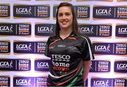 30 May 2013; Roisin Colleary, Sligo, a member of the TESCO HomeGrown NFL Division 3 Team of the League 2013. 2013 TESCO HomeGrown Ladies National Football Team of the League Presentations. Croke Park, Dublin. Picture credit: Barry Cregg / SPORTSFILE