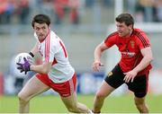 2 June 2013; Eoin Bradley, Derry, in action against Ryan Boyle, Down. Ulster GAA Football Senior Championship, Quarter-Final, Derry v Down, Celtic Park, Derry. Picture credit: Oliver McVeigh / SPORTSFILE
