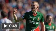 Darragh Doherty tribute at Dublin - Mayo game in Croke Park