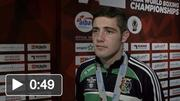 Joe Ward speaking after Men's Light Heavyweight 81kg Final