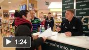 Dublin players sign 'A Rare Auld Season' in Easons