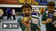 Team Ireland at the 2013 Special Olympics World Winter Games - Floorball