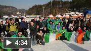 Team Ireland at the 2013 Special Olympics World Winter Games - Alping Skiing
