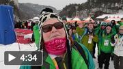 Team Ireland at the 2013 Special Olympics World Winter Games - Farewell to Korea