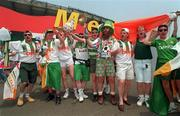 18 June 1994; Republic of Ireland supporters ahead of the FIFA World Cup 1994 Group E match between Republic of Ireland and Italy at Giants Stadium in New Jersey, USA. Photo by David Maher/Sportsfile