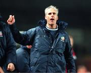 13 November 1999; Mick McCarthy, Republic of Ireland Manager. Soccer. Picture credit; David Maher/SPORTSFILE