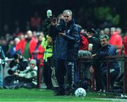 13 November 1999; Mick McCarthy, Republic of Ireland Manager, Soccer. Picture credit; Brendan Moran/SPORTSFILE