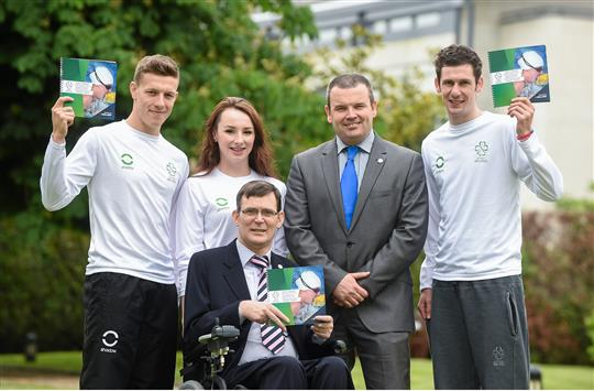 Paralympics Ireland Launch Strategic Plan 2014-2017
