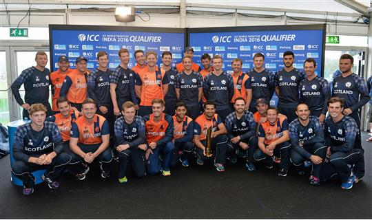 Scotland v Netherlands - ICC World Twenty20 Qualifier 2015 Final