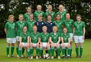27 September 2012; The Republic of Ireland under 17 squad. Republic of Ireland Women's U17 Squad Photos, AUL Complex, Clonshaugh, Dublin. Picture credit: Matt Browne / SPORTSFILE - read more