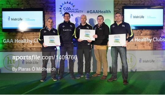 GAA Healthy Clubs Recognition Event