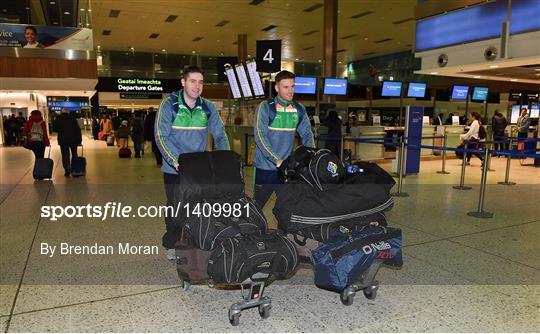 Ireland International Rules Team Departure
