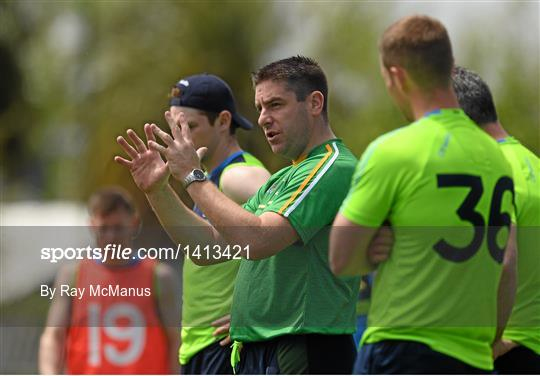 Ireland International Rules Squad Training