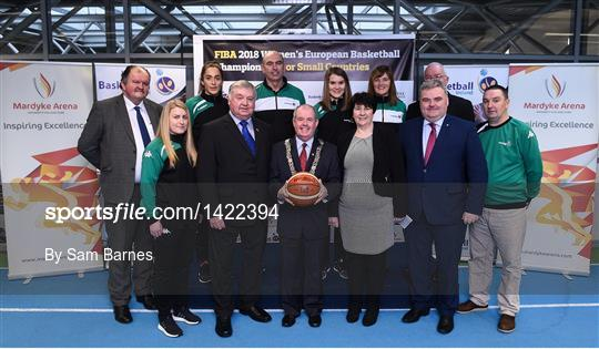 Basketball Ireland officially announce venue for FIBA 2018 Women's European Championship for Small Countries