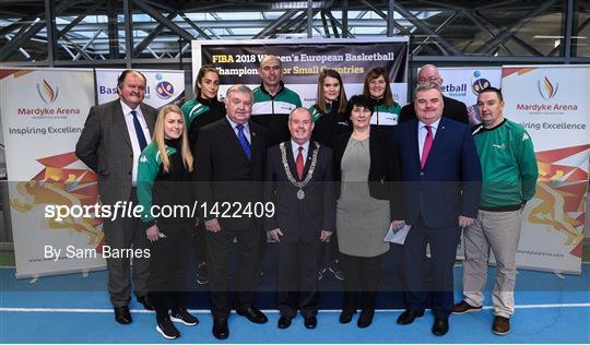 Basketball Ireland officially announce venue for FIBA 2018 Women's European Championship for Small Countries