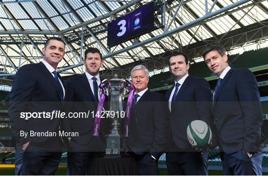 TV3 Announces Line-up for 2018 Six Nations Rugby Championship Coverage