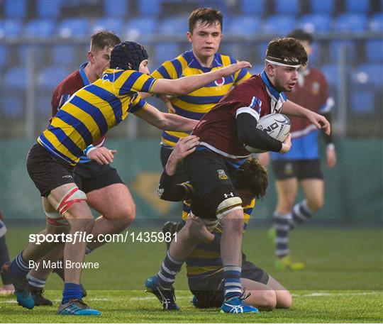 Salesian College v Skerries Community College - Bank of Ireland Leinster Schools Vinnie Murray Cup Round 1