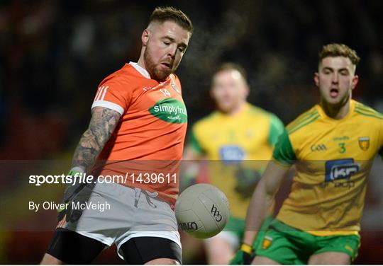 Donegal v Armagh - Bank of Ireland Dr. McKenna Cup semi-final